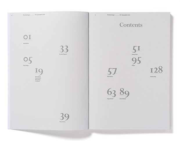 Circular 18 table of contents