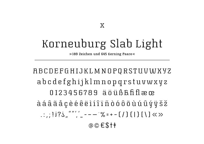 Korneuburg Slab Light