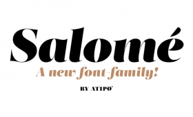 Salome — Free Font Friday