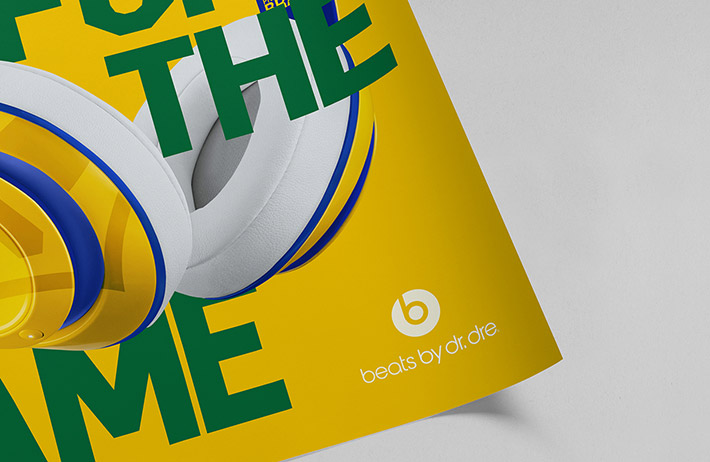 Beats by Dre by Mash Creative and Hype Type Studio