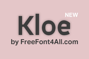 Free Fonts 4 All — Free Font Friday