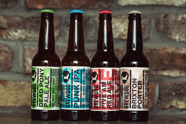 BrewDog new headliner packaging