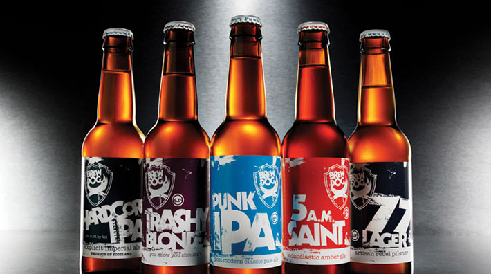 BrewDog old packaging