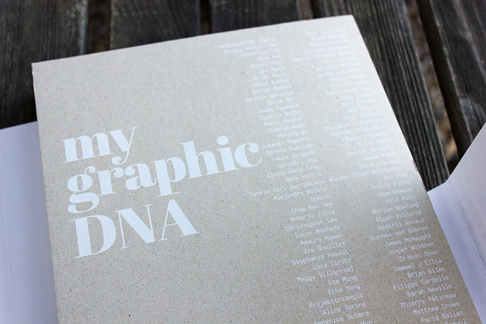 I've been published - My Graphic DNA by Sandu Publishing